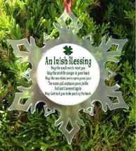 Irish Blessing Christmas Ornament   Irish  Prayer - $12.95