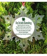 IRISH BLESSING CHRISTMAS ORNAMENT - IRISH  PRAYER - $12.95