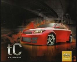 2009 Scion tC parts accessories brochure catalog Toyota TRD - $6.00