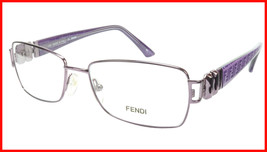 FENDI Eyeglasses Frame F883 (539) Metal Acetate Violet Italy 53-16-130, 33 - $177.57