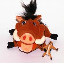 "Lion King 7"" PUMBAA & TIMON, Plush, Used-VG - $12.50"