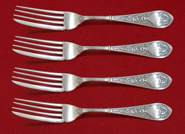 "Raphael by Gorham Sterling Silver Fish Fork Set 4pc AS Custom Made 7""  - $683.05"