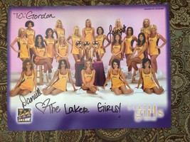 Los Angeles Lakers Girls Cheerleader Autograph Photo Signed Danielle Laura - $27.76