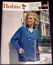 Robin Lady's Blazer Pattern No 1369 - $3.79