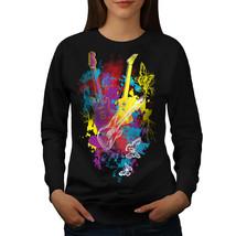 Guitar Dream Player Jumper Electric Women Sweatshirt - $18.99