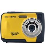 BELL+HOWELL WP10-Y 12.0-Megapixel WP10 Splash Waterproof Digital Camera ... - $80.47