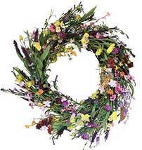 The Wreath Depot Canterbury Spring Door Wreath 24 Inches, Beautiful Fron... - $75.19