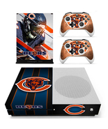 Chicago Bears NFL Xbox One S Slim Console Vinyl Skin Decals Sticker Wrap - $12.50