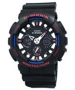 New Casio  G-SHOCK GA-120TR-1A Analog-Digital Sport Black Men Watch - $164.85