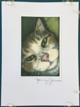Cat Art Notecard - Oscar II - $4.50