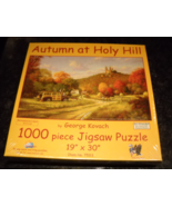 SunsOut Jigsaw Puzzle 2010 Autumn at Holy Hill George Kovach 1000 Pcs Se... - $10.99