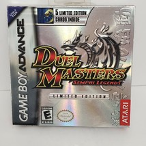 Duel Masters Sempai Legends Nintendo Game Boy Advance 2004 Factory New Sealed - $24.17