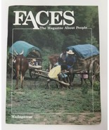 FACES Magazine About People MADAGASCAR March 1989 Vtg 80s Rain Forest Ma... - $19.79