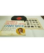 Johnny Mathis ~ Johnny's Greatest Hits ~ Columbia Records ~ CL 1133 ~ Vi... - £1.48 GBP