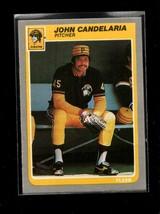 1985 FLEER #462 JOHN CANDELARIA NM PIRATES - $0.99