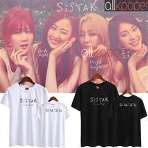 Kpop Sistar T-shirt Album Lonely Yoon Bo Ra Kim Hyo Jung SoYou Dasom Bas... - $12.07