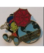 Jiminy Cricket with Umbrella WDW  Earth Day 2002  Authentic Disney Pin - $39.99