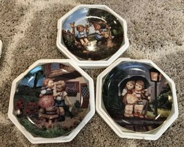 M.J Hummel Collector Plates Little Companions Lot of 3 Plates - Plate No. A9110 - $29.69