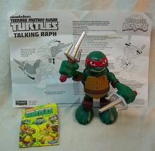 """Playmates Ninja Turtles HALF-SHELL Heroes TALKING RAPHAEL 6"""" ACTION FIGU... - $16.34"""