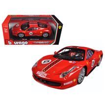 Ferrari 458 Challenge #5 Red 1/24 Diecast Model Car by Bburago 26302 - $33.34