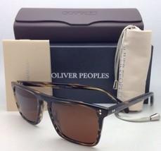 Polarized Oliver Peoples Sunglasses Bernardo Ov 5189-S 1003/N9 Cocobolo w/ Brown - $389.95