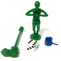Mouse Trap Board Game Diver #19 Replacement Part + Blue Mouse Die And Boot - $12.38