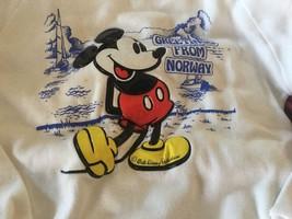Walt Disney Kinder Sweatshirt Grüße aus Norwegen 11/12 Jahre Alt Adrian ... - $10.14