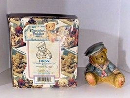 """Cherished Teddies Marty """"I'll Always Be There For You"""" Figurine - $14.99"""