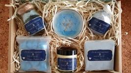 Bath Gift Set,Bath Bomb,Soap,Moisturize face,Body Salts,Candle,Vegan Ha... - $44.99