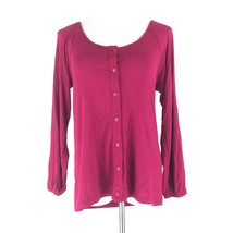 SALE Womens UO Pins & Needles Size S Lace Open Back Button Down Blouse Pink - $4.99