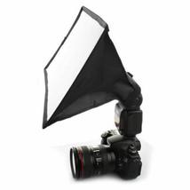 20cm x 30cm Softbox Diffuser Flash For Canon Nikon Sony Pentax UK Seller - $18.76