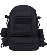 Black MOLLE Large Military Deployment Pack with Belt - $108.99