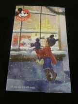 WDW DISNEY MICKEY MONITOR HOLIDAY 2018 FILL YOUR WISH LISTS WITH MAGIC G... - $6.99