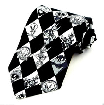 Looney Tunes Retro Mens Necktie Licensed Cartoon Tweety Taz Bugs Marvin ... - $27.67