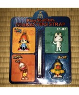 McDonald's × PlayStation Character Strap PaRappa the Rapper/Chocobo/Ape ... - $36.79