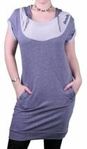Bench UK Freizeit Damen Westerly Fleece Pullover Kleid Mit Kapuze BLSA1297 Nwt