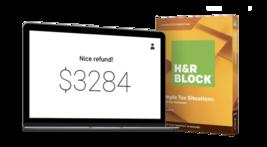 H&r Bloc Taxe Logiciel Basique Simple Taxe Situations - $7.90