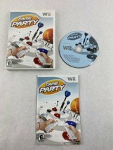 Game Party Nintendo Wii Game 2007 Midway Home Entertainment with Manual - $5.00