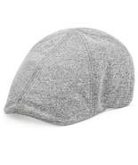 NWT Levi's Men's Canvas Ivy Newsboy Hat Charcoal Grey Large X-Large 44LV... - $14.69