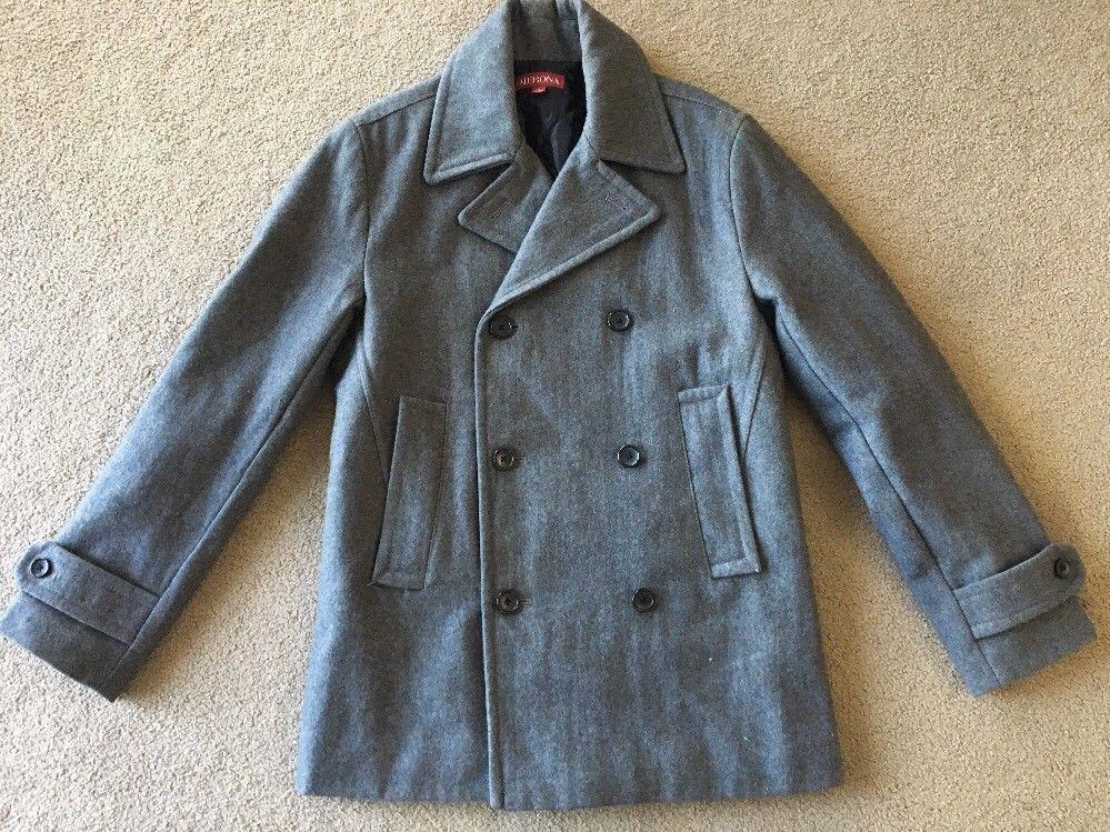 3e829fb7b Merona Women's Charcoal Gray Wool Double and 48 similar items