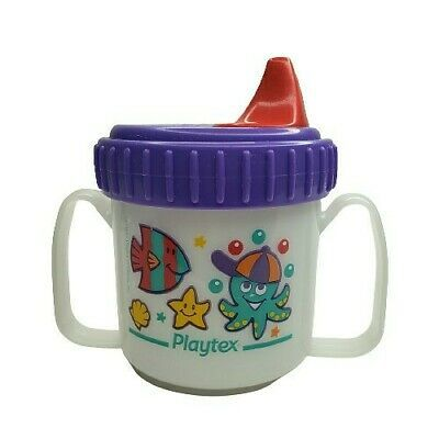Primary image for Vintage 1997 Playtex Toddler Sippy Cup