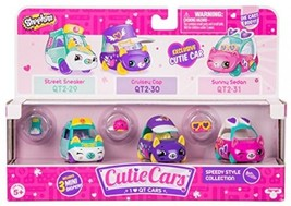 Shopkins Cutie Cars Three Pack - Speedy Style Collection - $30.40