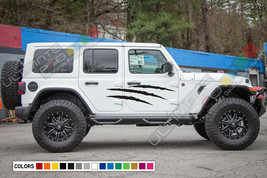 Side Scratch Sticker for Jeep Wrangler JL scratch graphic intake door 2019 2020  - $44.77+