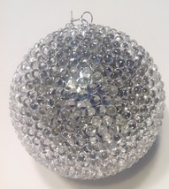 Christmas Ornament Thousand Eye Ball Silver Raz - $14.80