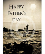 'Happy Father's Day' - 5x7 Greeting Card w/ Envelope - $2.99