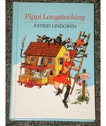 Pippi Longstocking by Astrid Lindgren HB - $2.00
