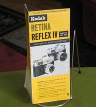Vintage 1964 Kodak Retina Reflex IV Cameras & Aids Brochure FREE SHIPPING! - $14.95