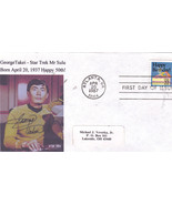 GEORGE TAKEI - STAR TREK Happy 50th First Day Cover - ₹412.89 INR