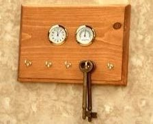 Key Organizers - Clock, Temperature, Humidity Key Rack