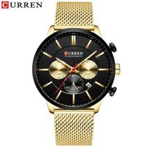 CURREN Watch Men Fashion Business Watches Men's Casual Waterproof Quartz Wristwa - $36.10